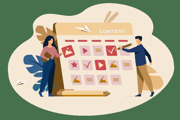 XocialMe Content Service Illustrator